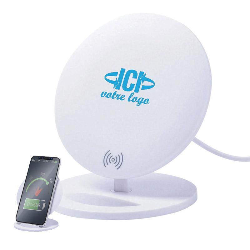 Support téléphone avec chargeur induction HOLLIS