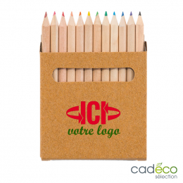 Boîte 12 crayons MALIBU