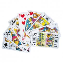 Jeu de 79 cartes TAROT