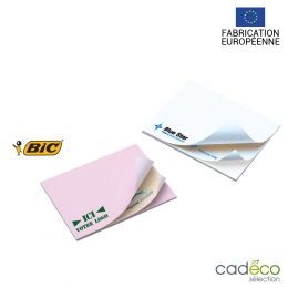 Bloc recyclé repositionnable STICKY-NOTE BIC