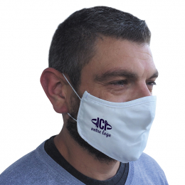 Masque tissu reutilisable 3 couches ss pli PIRATE
