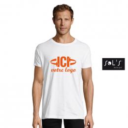 T-shirt Blanc 150g REGENT FIT Homme