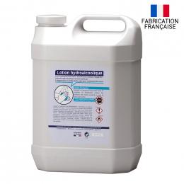 Bidon de lotion hydroalcoolique