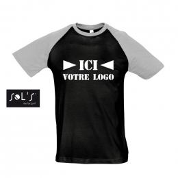 T-shirt Couleur Bicolore 150g FUNKY Homme