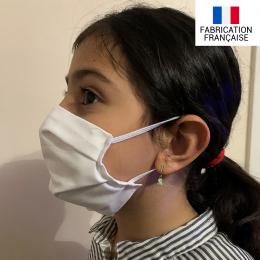 Masque tissu réutilisable 2 couches enfant