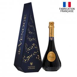 Champagne Princes blanc de blanc de Venoge sapin