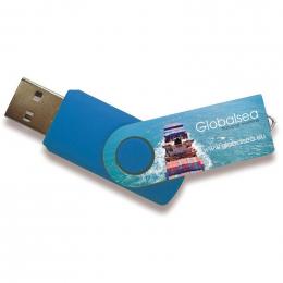 Clé USB TWISTER QUADRI RUSH 8Go