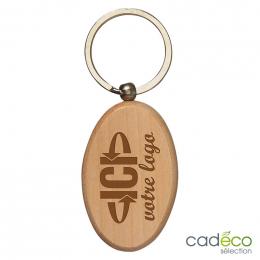 Porte-clés WOODYX ovale