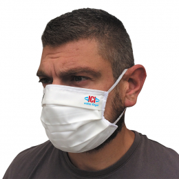Masque tissu reutilisable 3 couches