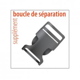 BOUCLE DE SEPARATION PVC POUR LANIERE TOUR DE COU