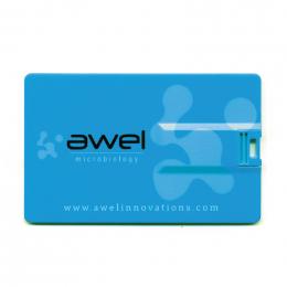 Clé USB QUADRI CARD RUSH 8Go