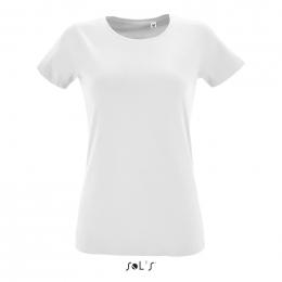 T-shirt Blanc 150g REGENT FIT Femme