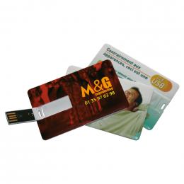 Clé USB QUADRI CARD 8Go