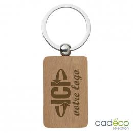 Porte-clés WOODYX rectangulaire