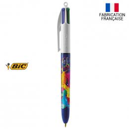 Stylo-bille 4 couleurs CLASSIQUE DIGITAL BIC