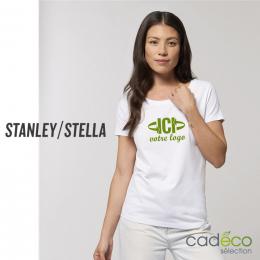 T-shirt Blanc 150g JAZZER Femme