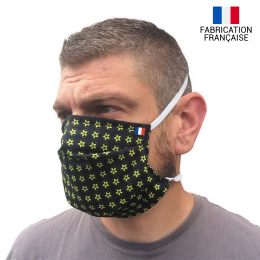 Masque alternatif en tissu réutilisable