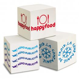 Bloc cube papier environ 750 feuillets