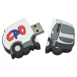 Clé USB PVC 2D 8Go