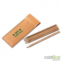 Set 5 crayons recyclés PAPER PEN