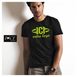 T-shirt Noir 190g IMPERIAL Homme