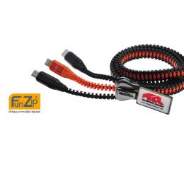 Câble de chargement XL FUNZIP CREA