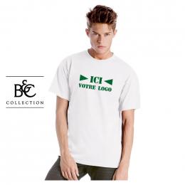 T-shirt Blanc EXACT190 B&C Mixte