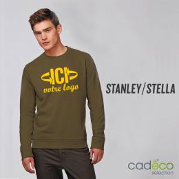 Sweatshirt 300 g/m2 RISE chiné Mixte