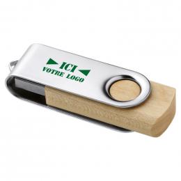 CLé USB TWISTER BOIS 1Go
